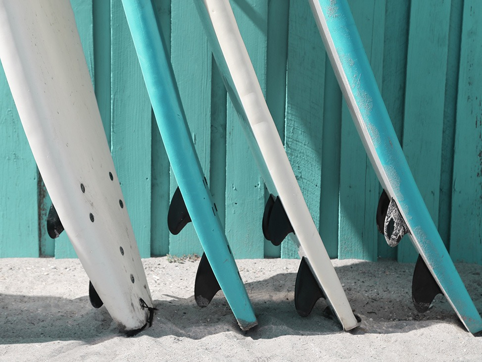 Surfboards in Florida